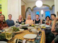 Dinner at Dupuy's Landing
