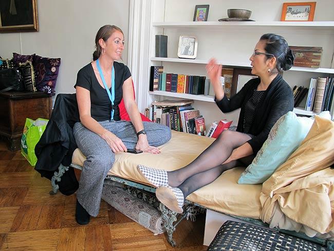 Emilie McGlone and Rachel Clark