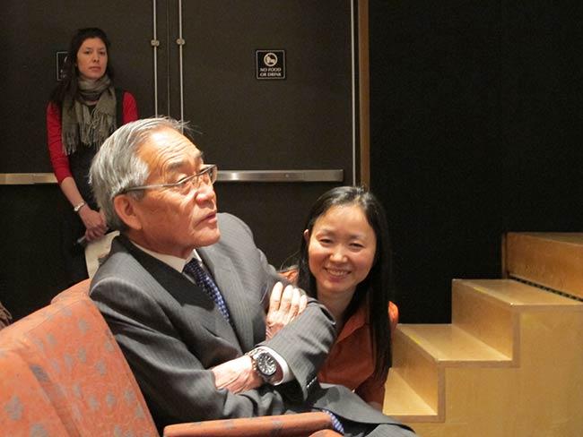 Motoatsu Sakurai and Kazuko Minamoto