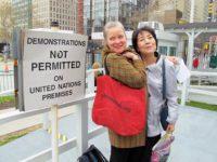 Kathleen Sullivan and Reiko Yamada