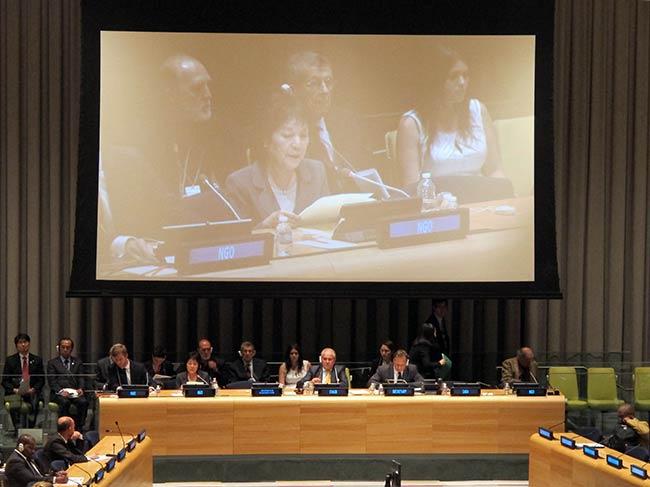 Reiko Yamada, Clifton Daniel, Ambassador Garcia Gonzalez and Akiro Kawasaki