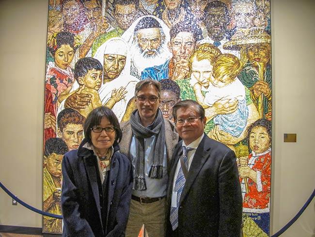 Miyako Taguchi, Michio Hakariya, Clifton Daniel