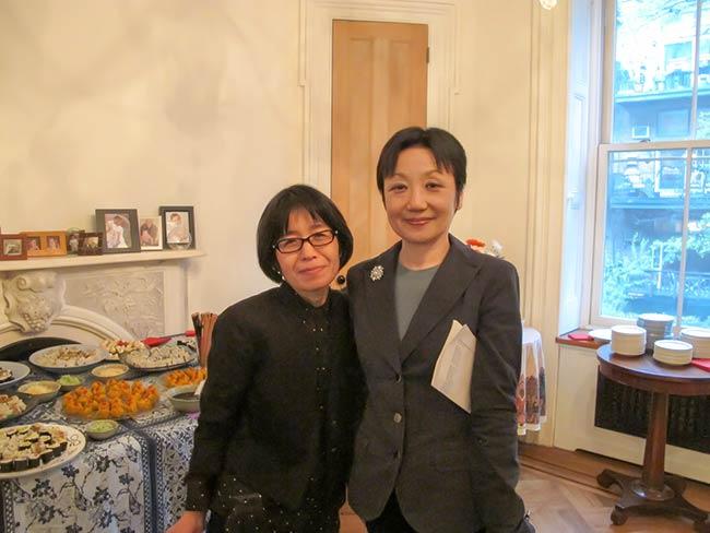 Miyako Taguchi and Mitchie Takeuchi
