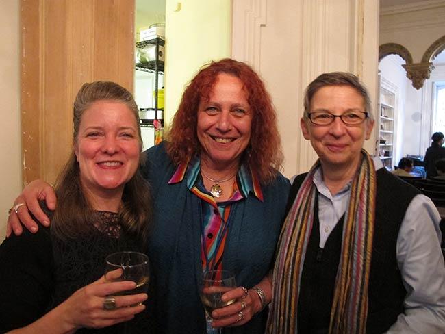 Kathleen Sullivan, Jackie Cabasso and Linda Chapman