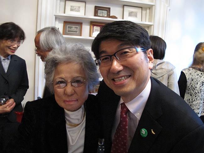 Shigeko Sasamori and Tomihisa Taue