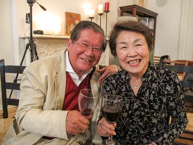 Michio Hakariya and Nobuko Sugino