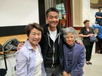 Nobuko Sugino and Shigeko Sasamori at High School of Dual Languages