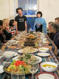 Hayato Nakao and Marie Cochrane describe the various dishes
