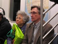 Shigeko Sasamori and Clifton Daniel coming home from the Bronx