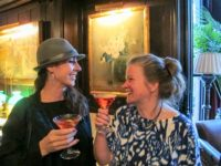 Emilie McGlone and Kathleen Sullivan, National Arts Club