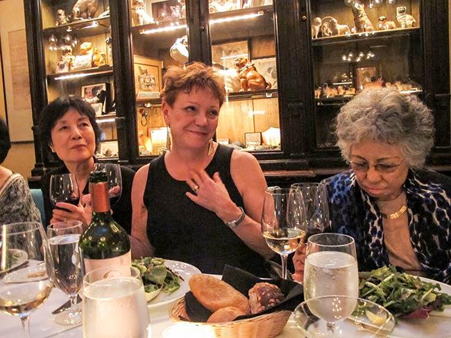 Reiko Yamada, Sandy Parker, Shigeko Sasamori, National Arts Club