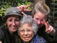 Emilie McGlone, Shigeko Sasamori and Kathleen Sullivan, National Arts Club