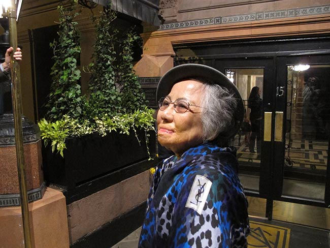Shigeko Sasamori, National Arts Club