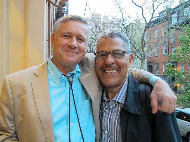 Robert Croonquist and Ray Soto