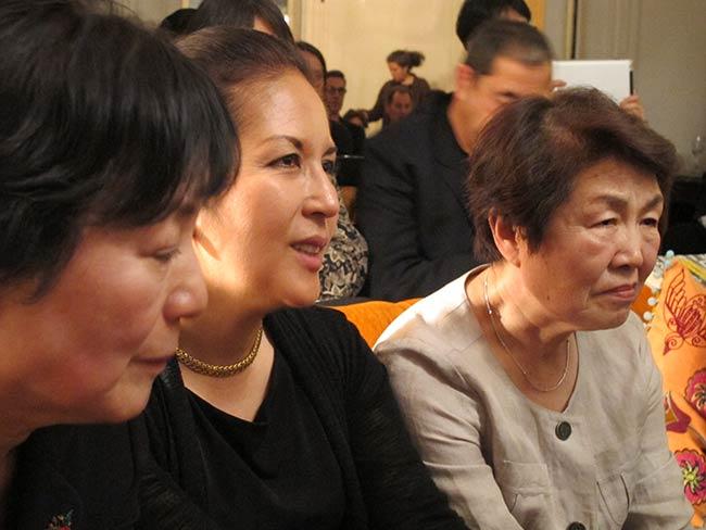 Reiko Yamada, Rachel Clark, Nobuko Sugino