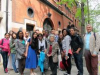 Students from Brooklyn International