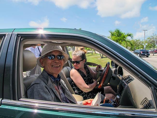 Yasuaki Yamashita and Kathleen Sullivan