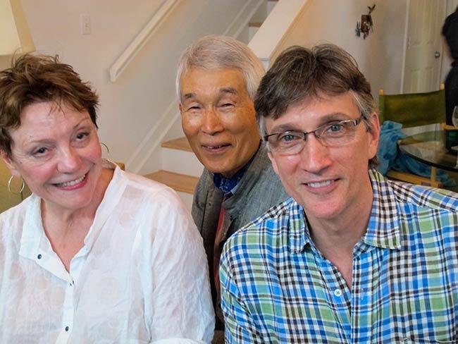 Sandy Parker, Clifton Daniel, Yasuaki Yamashita