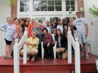 The team with students from Florida International University Honors College