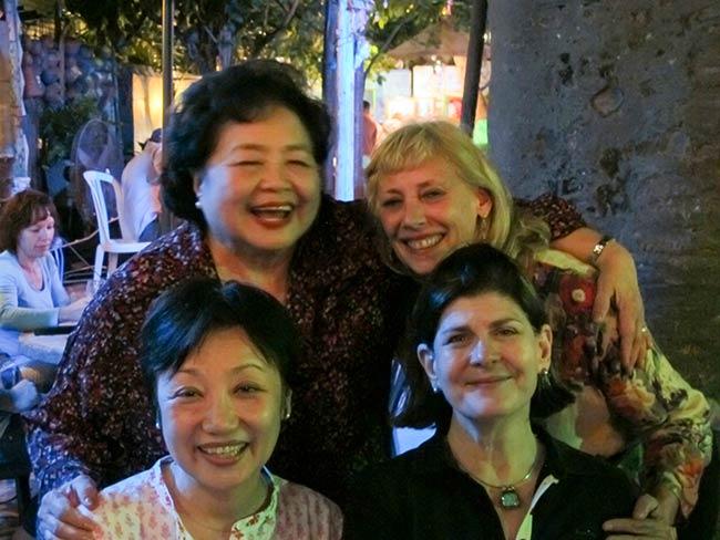 Mitchie Takeuchi, Setsuko Thurlow, Carolina Soto, Susan Strickler
