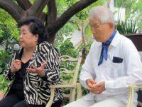 Setsuko Thurlow and Yasuaki Yamashita