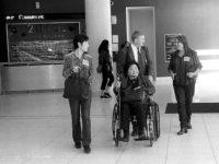 Mitchie Takeuchi, Robert Croonquist, Setsuko Thurlow, Deb Brindis