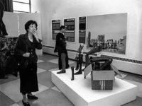 Reiko Yamada at the Disarmament Exhibit at UN Headquarters