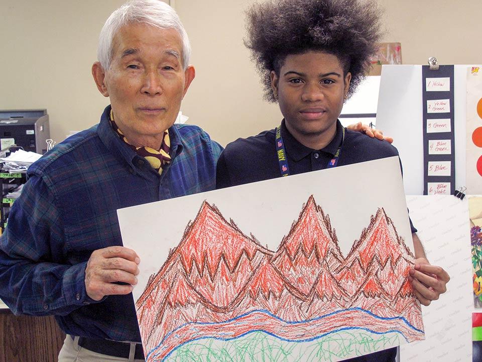 Student with Yasuaki Yamashita