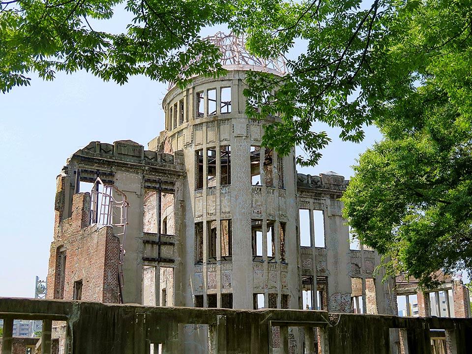 Hiroshima Peace Memorial Atomic Bomb Dome