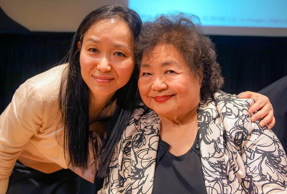 Kazuko Minamoto, Setsuko Thurlow