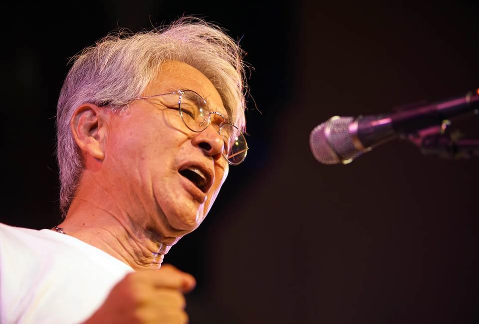 Hibakusha Himawari Choir director Terai Kazumichi