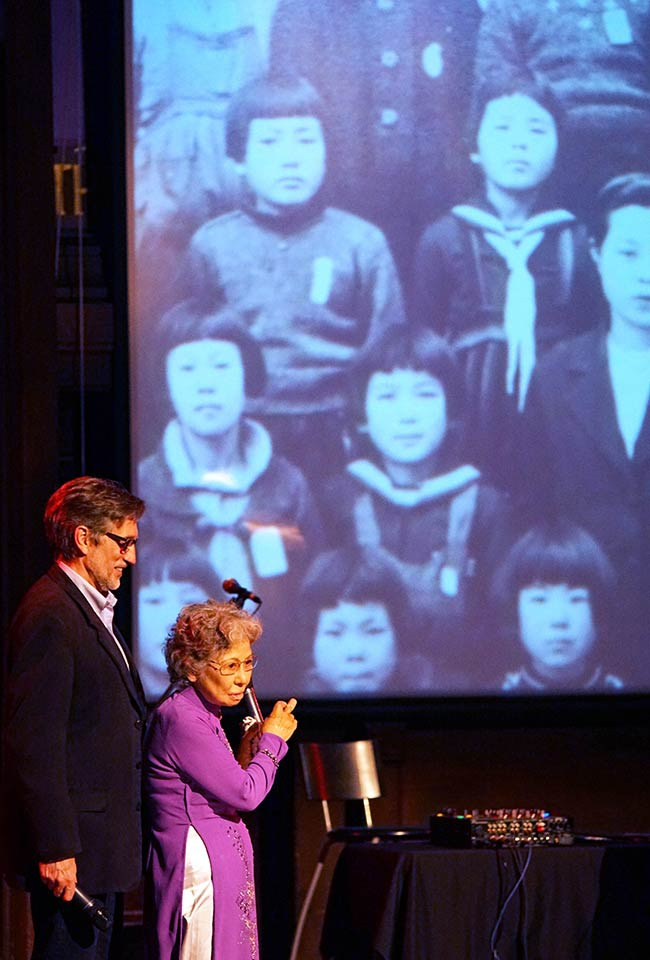 Clifton Truman Daniel, Shigeko Sasamori