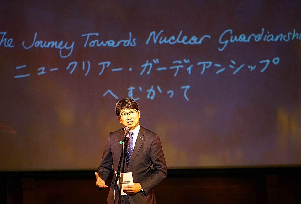 Tomihisa Taue, Mayor of Nagasaki