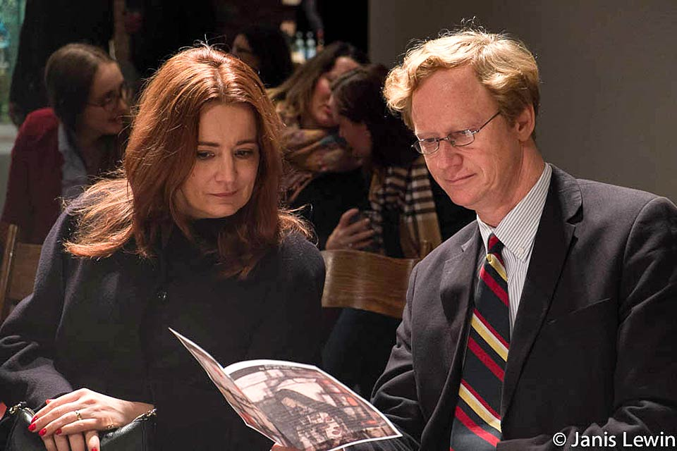 Ambassador Jan and Mrs. Kickert, Permanent Mission of Austria to the UN