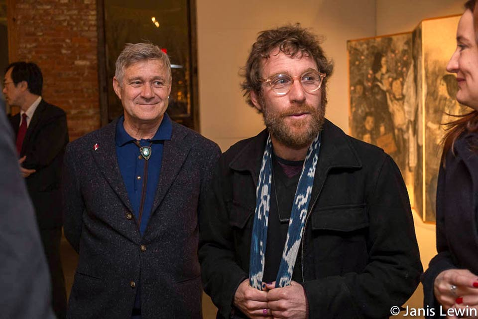 Robert Croonquist, Dustin Yellin