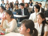 Visiting Japanese students