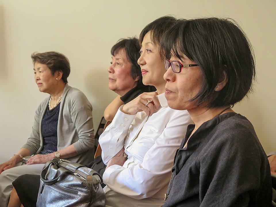 Nobuko Sugino, Reiko Yamada, Mitchie Takeuchi, Miyako Taguchi