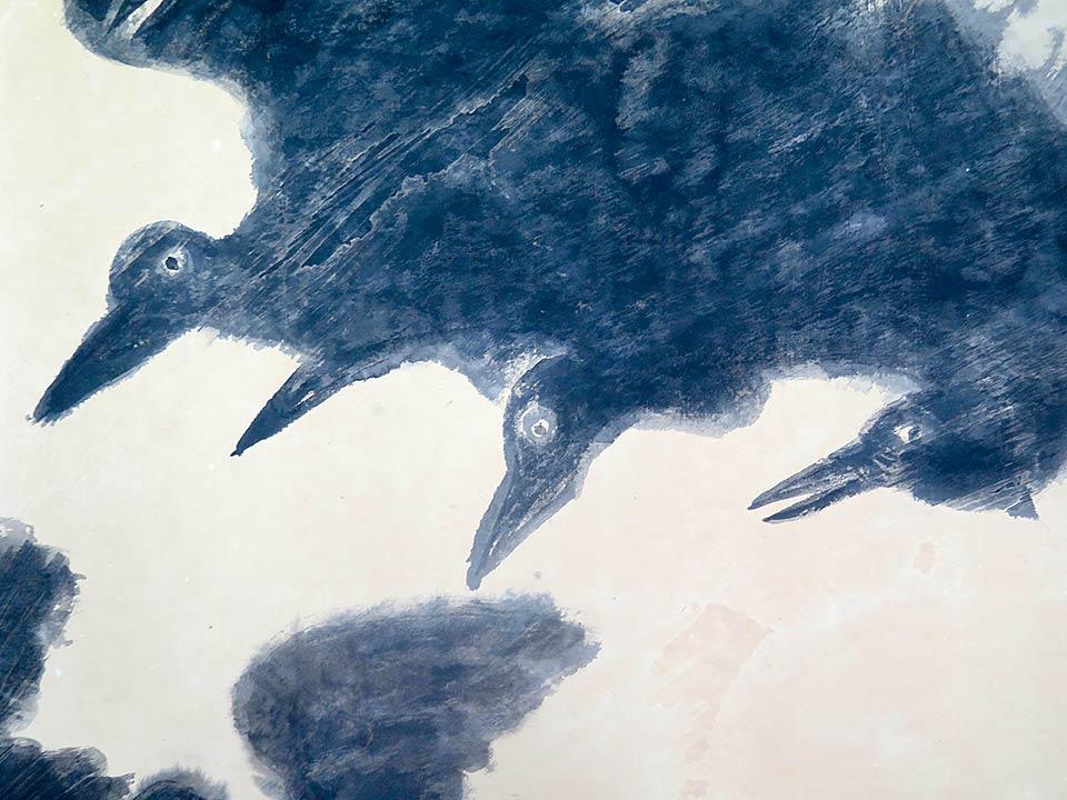 Hiroshima Panels, Crows (1972)