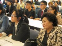 Visiting Japanese students, Setsuko Thurlow