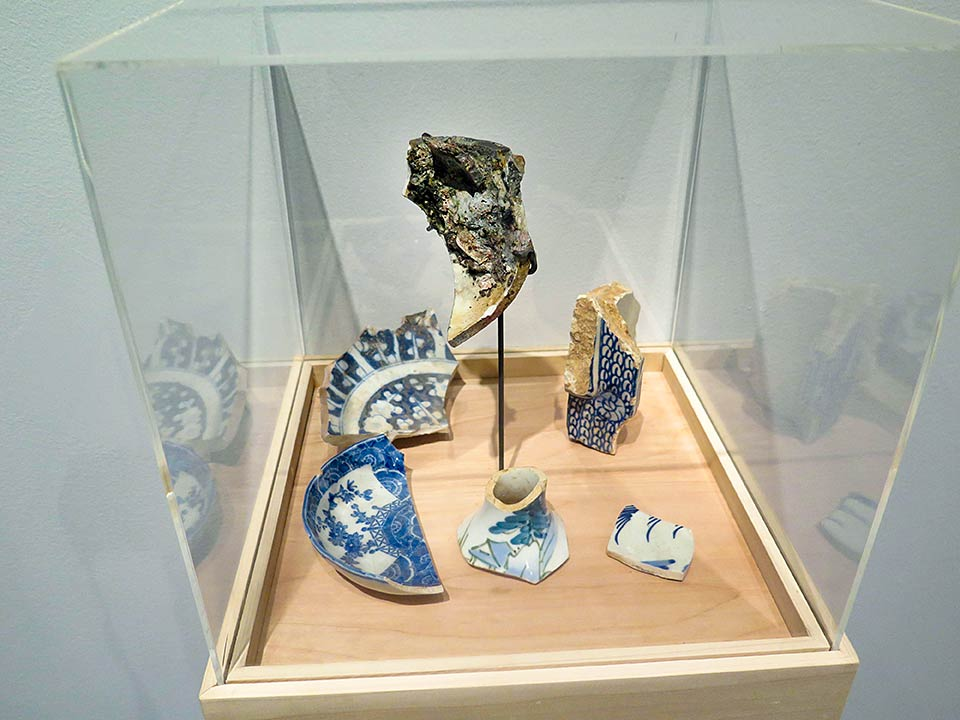 Nagasaki artifacts from Sakue Shimohira