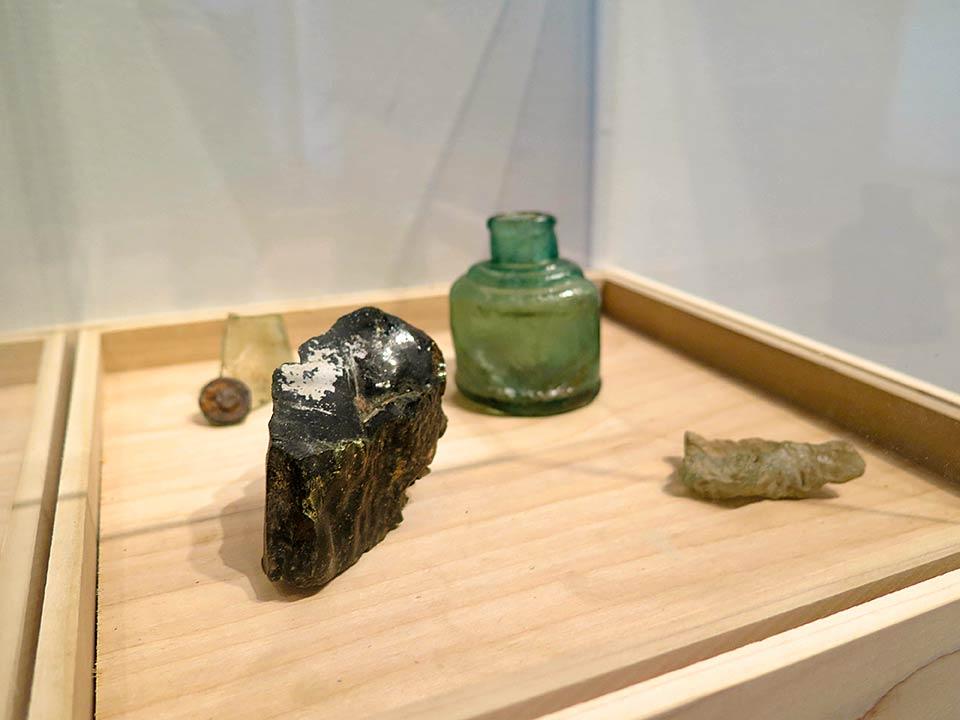 Nagasaki artifacts from Sakue Shimohira