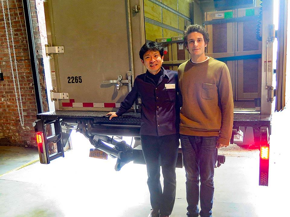 Gabriel Florenz, Pioneer Works Director & Yukunori Okamura