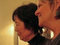 Reiko Yamada, Debra Brindis at Café Loup