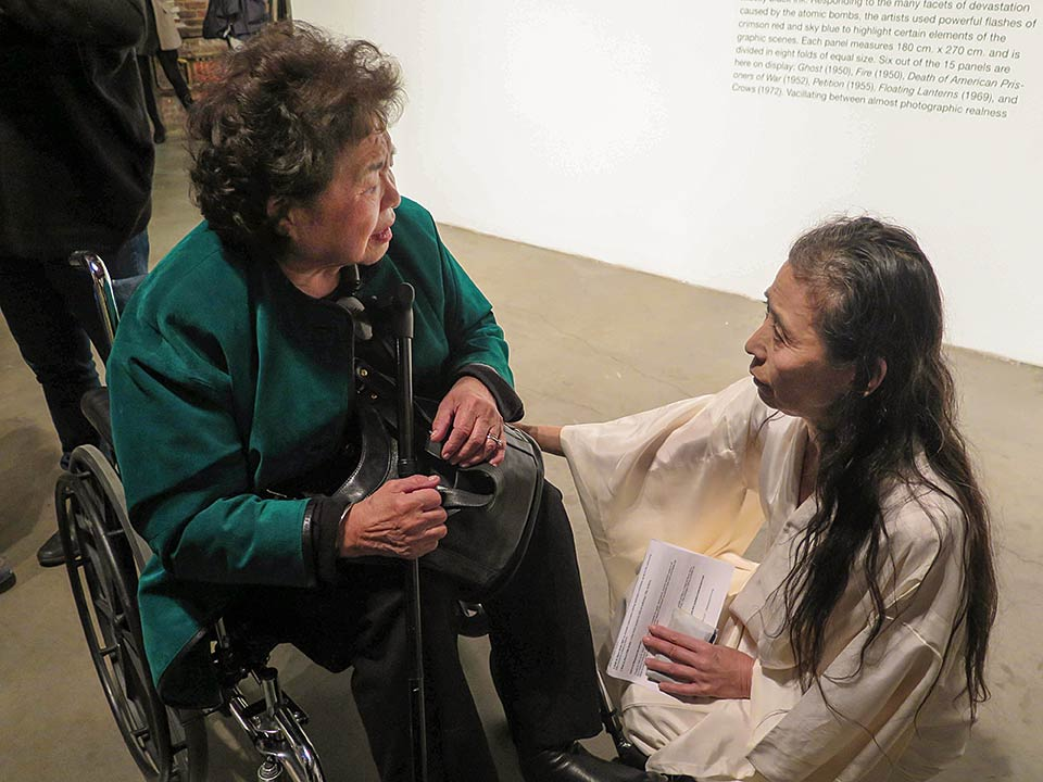 Setsuko Thurlow, Eiko Otake