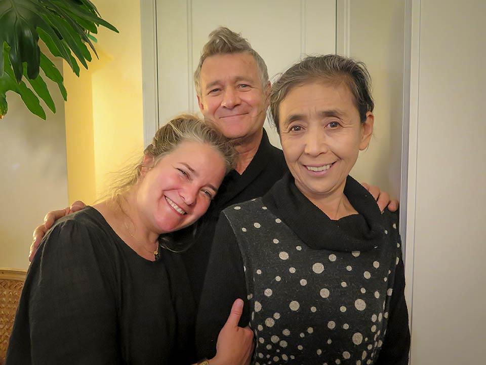 Kathleen Sullivan, Robert Croonquist, Eiko Otake