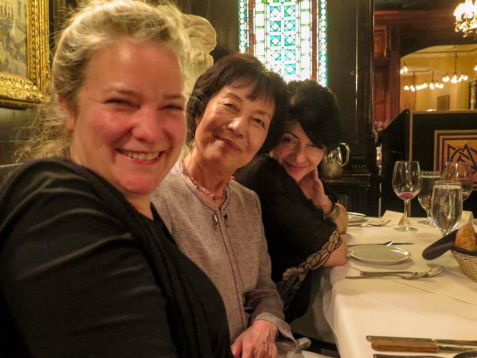 Kathleen Sullivan, Reiko Yamada, Marie Cochrane