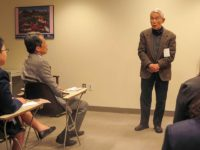 Mr. KIM Won-soo and Yasuaki Yamashita