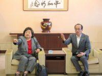 Setsuko Thurlow, Mayor Kazumi Matsui