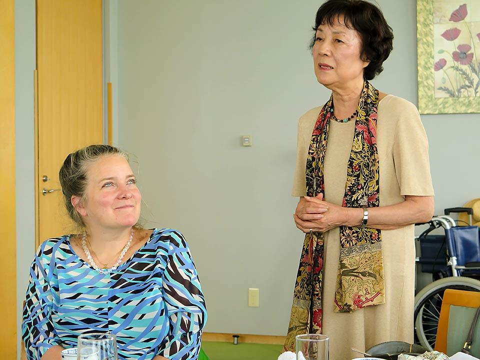 Kathleen Sullivan, Reiko Yamada