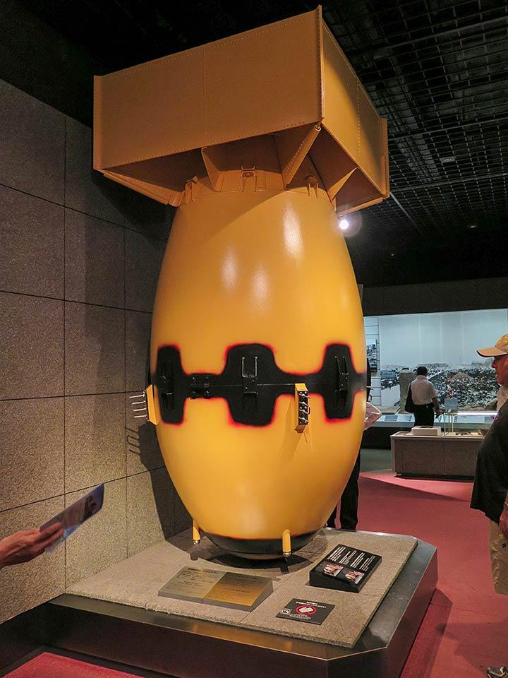 Fat Man, the bomb dropped on Nagasaki